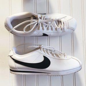 Nike Cortez White Black Classic Sneakers